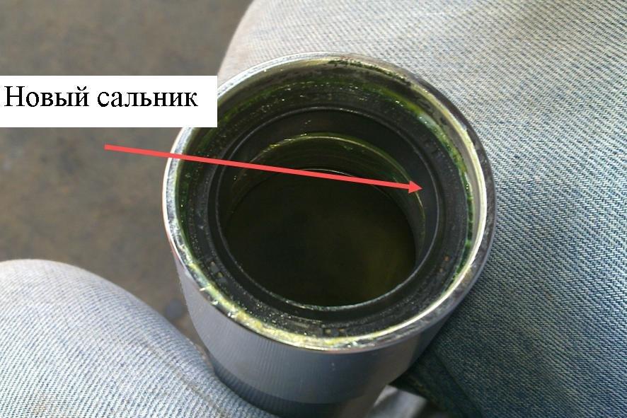 Как заменить сальник вилки
