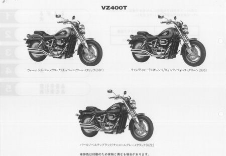 Каталог деталей на VZ400