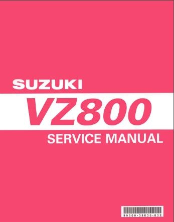 Suzuki Marauder VZ800 1997-2004 (mod.K1.K2.K3.K4) Service Manual